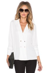 L'academie The Military Blouse White