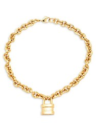 Saks Fifth Avenue Blissmine 18K Gold Plated Necklace