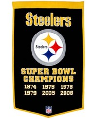 Winning Streak Pittsburgh Steelers Dynasty Banner Team Color