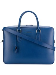 Burberry London Briefcase Blue