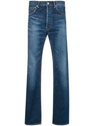 Visvim Faded Slim Fit Jeans Blue