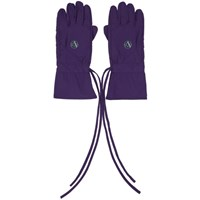 Raf Simons Purple Labo Gloves