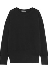 Vince Cutout Cashmere Sweater Black