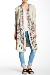 Biya Embroidered Maxi Cardigan Multi