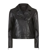 Rag And Bone Mercer Leather Jacket Female Black