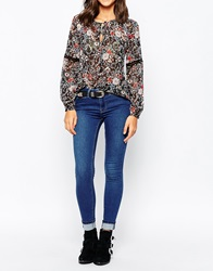 Warehouse Power Hold Skinny Jeans 70Sblue