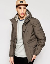 Puffa Caney Amsterdam Coat Green