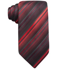 John Ashford Barrett Stripe Tie Only At Macy's Red