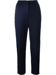 Msgm Slim Fit Trousers Blue