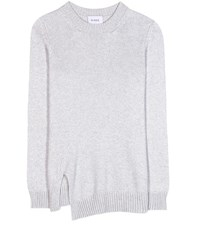 Barrie Cashmere Sweater Grey