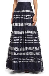 Eliza J Women's Flocked Dot Ball Skirt