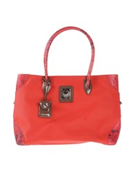 Piero Guidi Handbags Red
