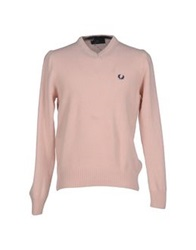 Fred Perry Sweaters Light Pink