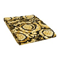 Versace Barocco 14 Fitted Sheet 200X205cm Black Gold
