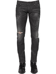 Dsquared 16.5Cm Distressed Clement Denim Jeans