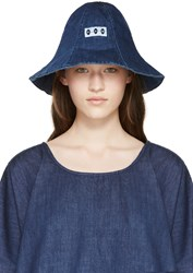 Perks And Mini Indigo Denim Bucket Hat