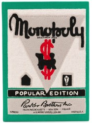 Olympia Le Tan Monopoly Popular Edition Clutch Green