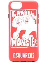 Dsquared2 Canadian Monster Iphone 8 Case