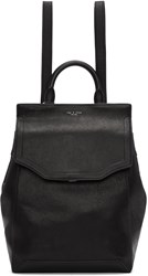 Rag And Bone Black Pilot Ii Backpack