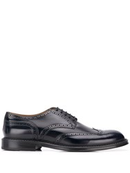 Doucal's Lace Up Brogues Blue