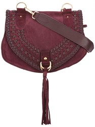 See By Chloe Collins Crossbody Bag Pink Purple