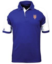 Antigua Men's New York Mets Century Polo Royalblue White
