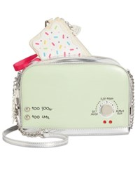 Betsey Johnson A Toast To You Small Crossbody Mint