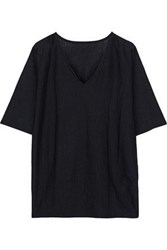 Wolford Woman Olivia Wool And Silk Blend Top Black