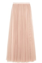 Needle And Thread Tulle Maxi Skirt Blush