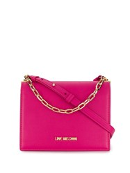 Love Moschino Fuchsia Shoulder Bag Pink