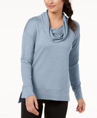 Ideology Cowl Neck Top Created For Macy's Serene Blue