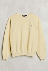 Urban Renewal Vintage Polo Pale Yellow Sweatshirt Assorted