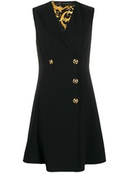 Versace Double Breasted Sleeveless Dress 60