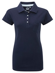 Tog 24 Kima Womens Polo Shirt Midnight