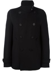 Wooyoungmi Double Breasted Coat Black
