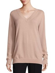 Vince Vee Cashmere Sweater Pecan Winter White