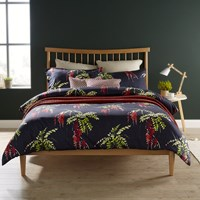 Christy Japonica Duvet Set Carmine Blue