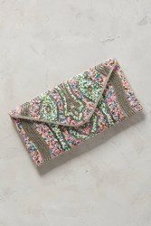 Anthropologie Eliza Clutch Pink