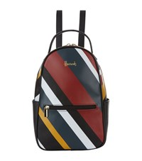 Harrods Niki Striped Backpack Multi