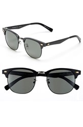 Men's Original Penguin 'The Gimlet' 51Mm Polarized Sunglasses Matte Black Green