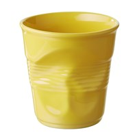 Revol Crumple Utensil Jar Yellow