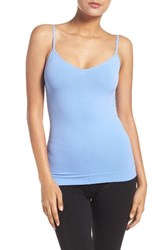 Nordstrom Women's Lingerie Two Way Seamless Camisole Blue Cornflower