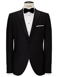 John Lewis Peak Lapel Dress Suit Jacket Black
