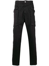 Transit Side Pouch Pocket Trousers Black