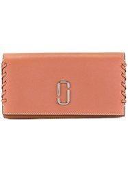 Marc Jacobs Noho Flap Continental Wallet Brown