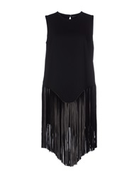 Gaetano Navarra Short Dresses Black