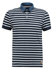 Tom Tailor Polo Shirt Black Iris Blue