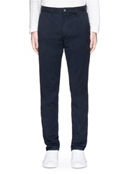 Rag And Bone 'Fit 2' Cotton Chinos Blue