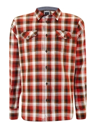 Helly Hansen Marstrand Flannel Shirt Red