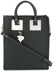 Sophie Hulme Large 'Albion' Shoulder Bag Black